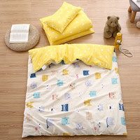 Baby Bed Three piece Pure Cotton Bedding Baby Bedding Children Cotton Quilt Baby Items Cartoon Cute Quilt Pillowcase Bed Cover