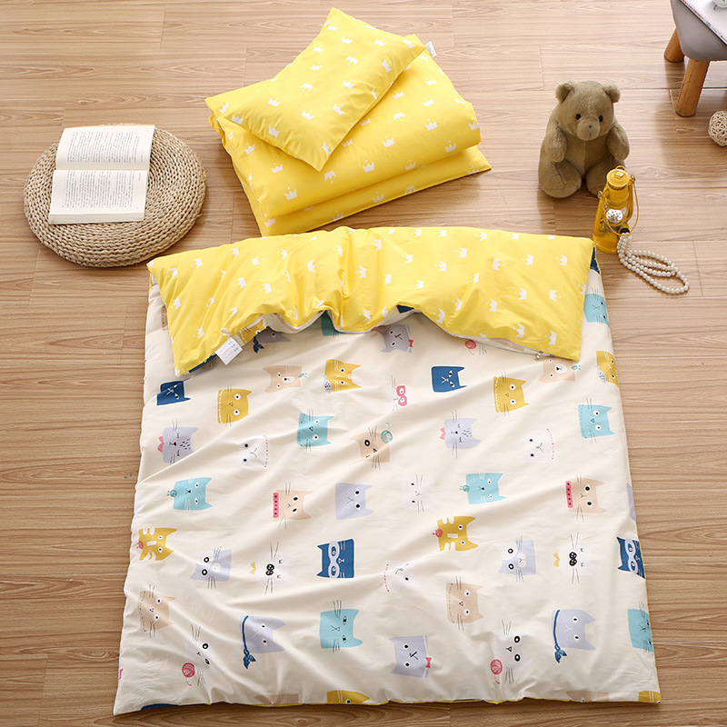 Baby Bed Three-piece Pure Cotton Bedding Baby Bedding Children Cotton Quilt Baby Items Cartoon Cute Quilt Pillowcase Bed CoverBaby Bed Three-piece Pure Cotton Bedding Baby Bedding Children Cotton Quilt Baby Items Cartoon Cute Quilt Pillowcase Bed Cover