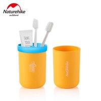 Naturehike saco de lavagem de viagens garrafa de água copo de viagem multifunções kit dente copos