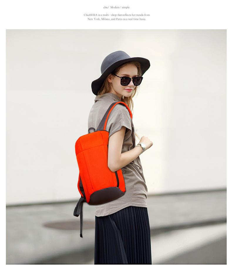 Waterproof S ports Backpack Out Door Luggage Shoulder Women Men School Bags Bagpack Mini Small Teenage Travel Rucksack 5