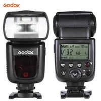 Echtes Godox Flash V850II Kamera Flash GN60 2,4G Wireless X System Speedlite 1/8000 s HSS Für Canon nikon Pentax Olympas DSLR