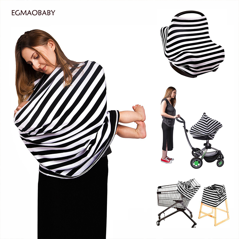 baby car seat cover Nursing Breastfeeding Privacy Cover Baby Scarf Infant Car Seat Stroller Breast Feeding Scarf Nursing Covers