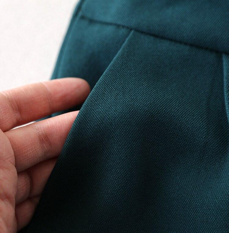 Large Costumes Costume Gilet Points Printemps Pantalon Tempérament 1 Jambe Nouveau Pièces Manches Mode Sans Femmes Neuf Automne De Deux Tzr7T1q