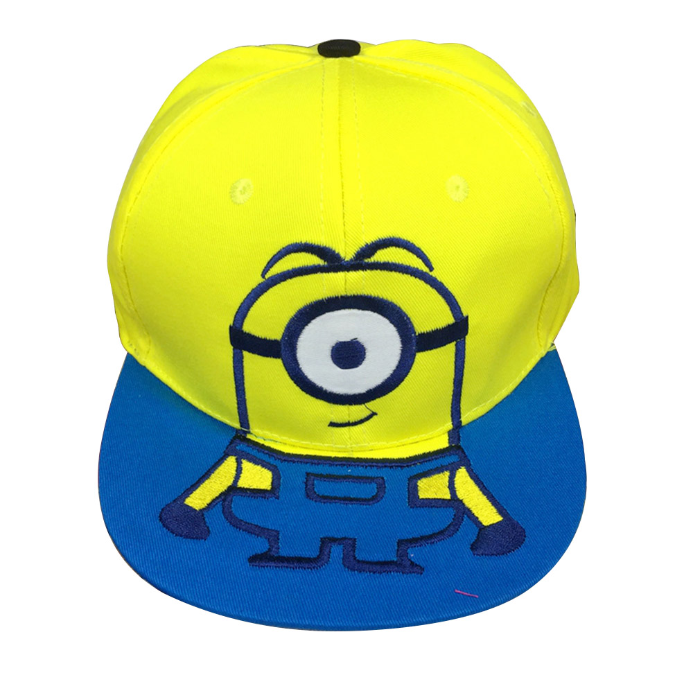2017 Cartoon for Minions Adjustable Caps girl kids Baseball hat Cool Boy  Hip hop cosplay prop-in Baseball Caps from Men s Clothing   Accessories on  ... cb70d2b99869