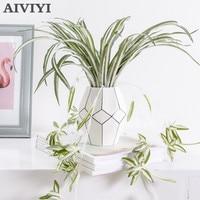 High-end-simulation anlage fünf kopf hängen orchidee wand hängen wohnzimmer indoor grüne pflanze korb topf decke dekoration