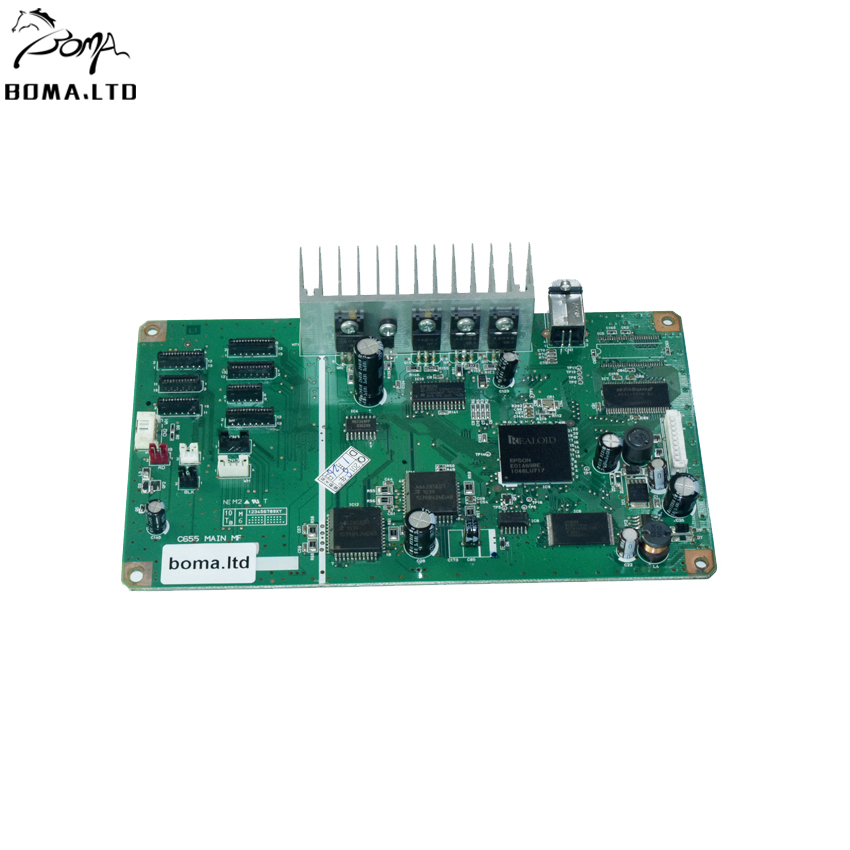 Original Printer Motherboard For Epson Stylus Photo 1410 1430 R1410 1390 1400 formatter board logical Flatbed Printer Main Boar original printer mainboard for epson stylus photo 1390 1400 1410 1430 ect printer modified flatbed printer
