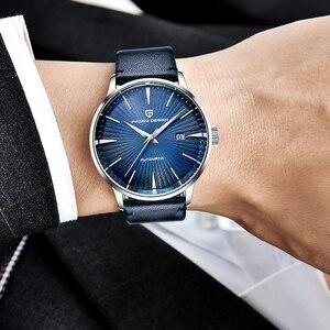 Image 3 - Часы наручные PAGANI Мужские механические, Классические роскошные автоматические деловые водонепроницаемые, с кожаным ремешком, 2020