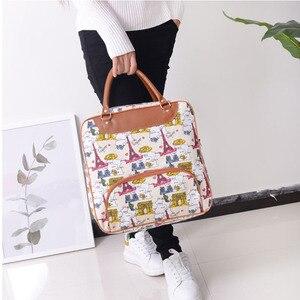 Fashion Canvas Handbag Waterproof Travel Bag Large Capacity Shoulder Bag Men and Women Travel Boarding Luggage Bag