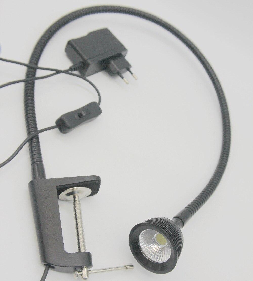 3w Cob Led Desk Clip Tool Lamp Or Work Bench Cnc Machine