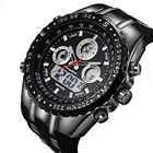 Readeel haut Sport Quartz montre bracelet hommes militaires montres imperméables Led montres numériques hommes Quartz montre bracelet mâle - 4