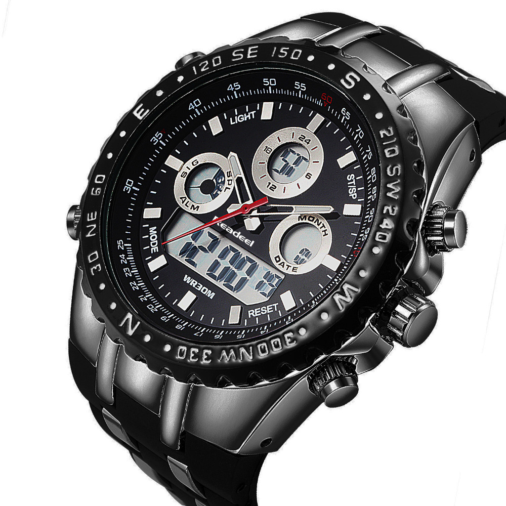 881a947d69da Reloj de pulsera de cuarzo deportivo de marca Readeel