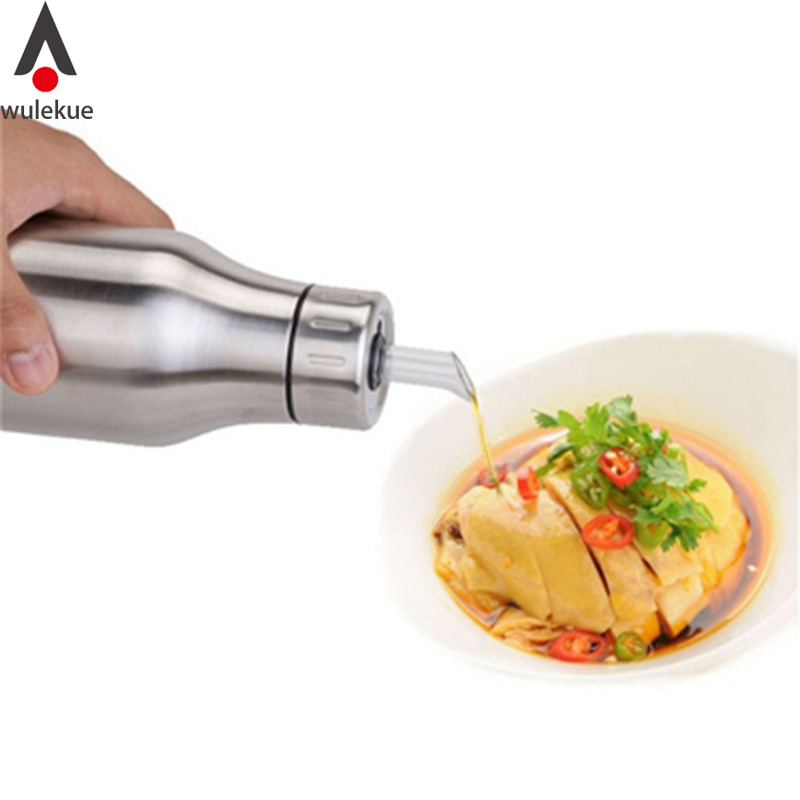 750ml Olive Oil Dispenser Drizzler Bottles Pot Container Cooking Pastry Tools Kitchen Dining Bar Accessories Supplies