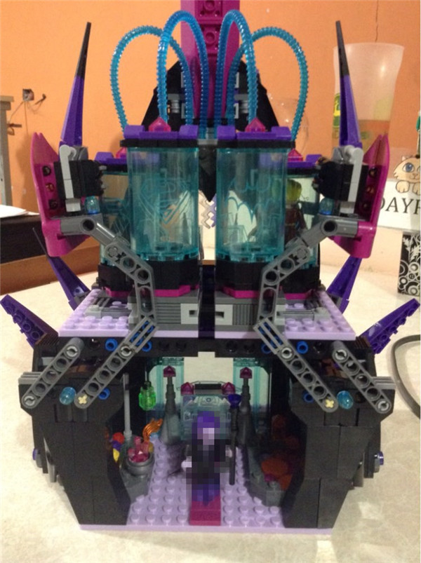 The Eclipso Dark Palace Set 1093Pcs Genuine Superhero Series Compatible Lepins Educational Building Blocks Bricks Toys Model star series war the rogue one at set st walker educational building blocks bricks toys compatible lepins diy model figures
