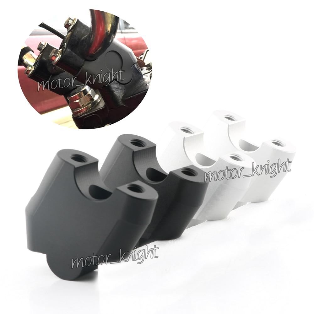 CNC Handlebar Extension Riser Mount Lifting Handle Bar Clamp Fit For Honda CB300F CB400F CB500X CB500F NC700 NC750 X S DCT