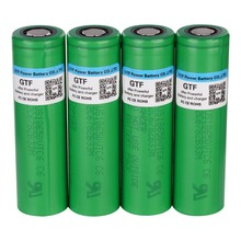 GTF VTC6 3.7V 18650 Battery 3000mAh rechargeable Li-ion battery for US18650VTC6 30A For Electronic cigarette toy tool flashlight