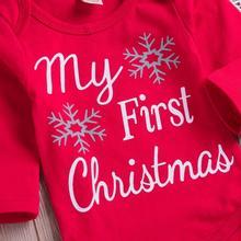 Christmas Newborn Baby Boy Clothes Sets