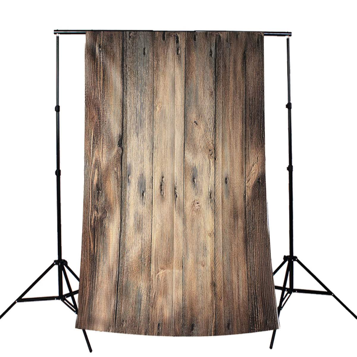 3x5ft flower wood wall vinyl background photography photo studio props - 3x5ft Silk Photography Backdrop Silk Photo Wood Wall Floor Studio Prop Background Realistic Lasting Wear 90x150cm