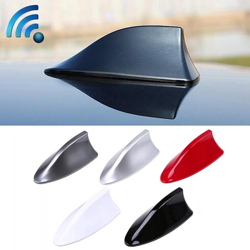 Shark Fin Antenna Auto Radio Signal Aerials Roof Antennas For Hyundai solaris accent i30 ix35 i20 elantra santa fe tucson getz все цены