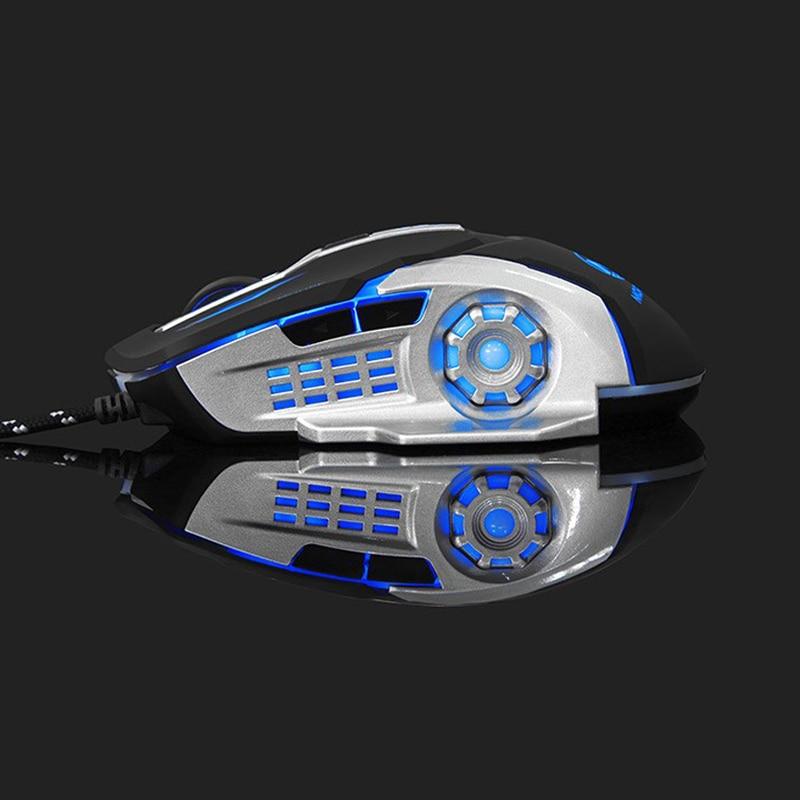 Neue 6 Taste 3200 DPI USB verkabelt mechanische Gaming-Maus-Mäuse - Computer-Peripheriegeräte - Foto 6