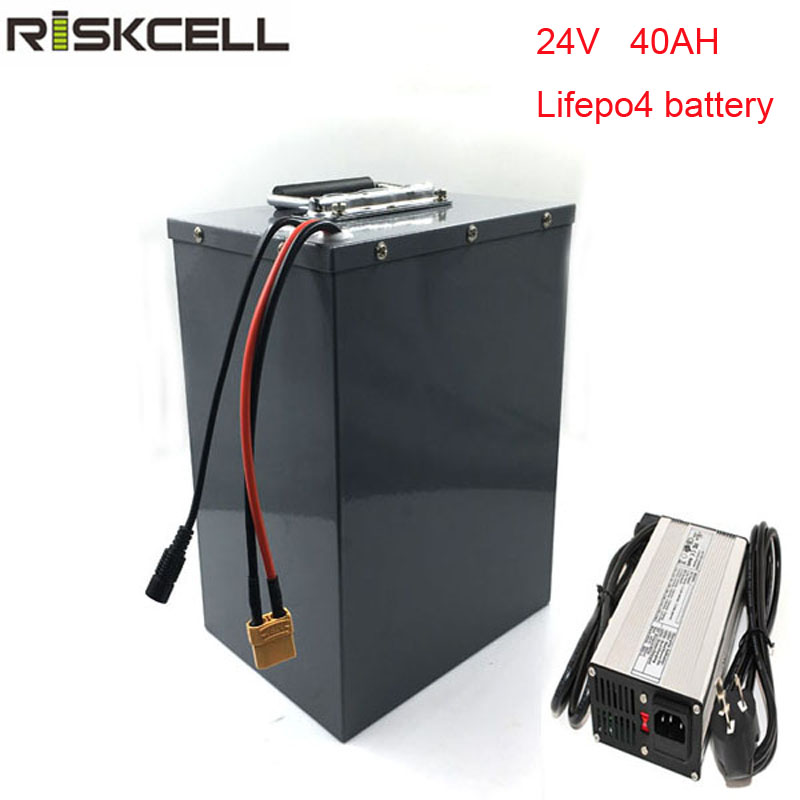 No taxes 24V 40AH lifepo4 battery li-ion for E-bike/E-scooter battery with 5a charger free customs taxes and shipping li ion ebike battery pack 24v 8ah 350w electric bike kit battery hailong e bike with charger