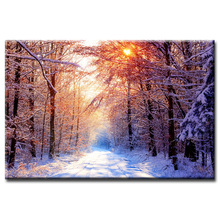 Wholesale Beautiful scenery series poster Poster Painting Custom Canvas Print On Printing Wall Pictures Home Decoration
