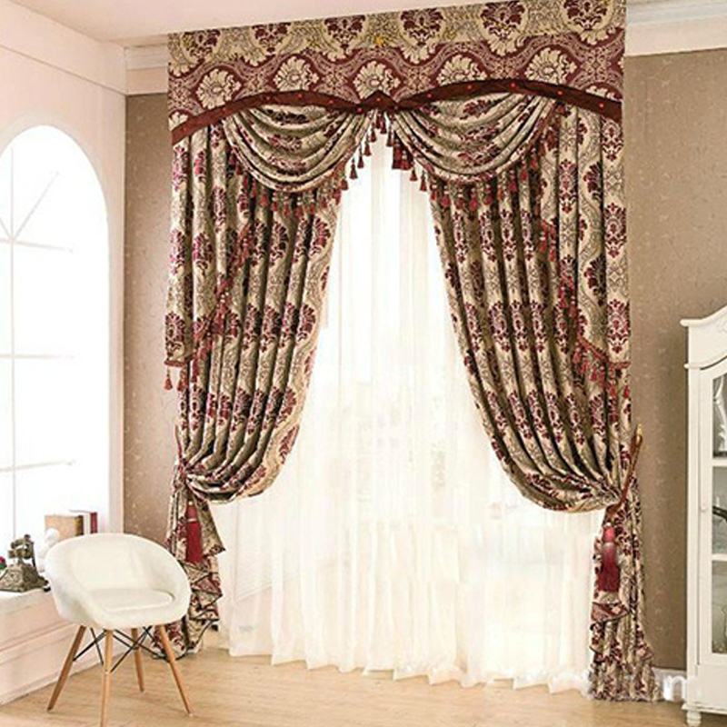 US $58.9 5% OFF|Curtains Shading Modern Style Printing Decorate Blackout  Curtains For Bedroom Living Dining Room Door Window Curtain-in Curtains  from ...