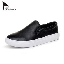 Full Grain Leather Women Flats Shoes Loafers High Quality Casual White Black Women Patent Leather Fashion Shoes Flats Plus Size
