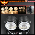 "H4 12V 60/55 W 3.5"" Universal Black Supermoto Custom Dominator Cruiser Streetfighter Project CB Twin Metal Motorcycle Headlight"