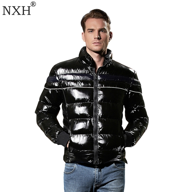 Aliexpress.com : Buy NXH Mens Down Jacket Winter Coat Premium ...