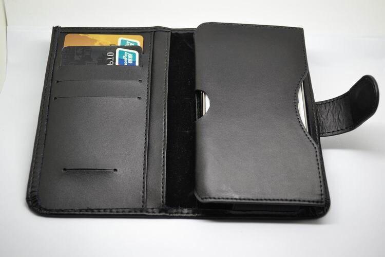 Горячая продажа двойную складку Натуральная кожа бумажник сумка с разъем карты для Fly fs457 нимб 15 4.0 дюйма Бесплатная доставка