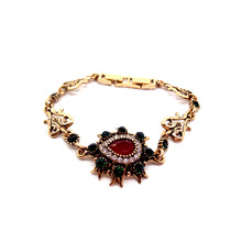 Fashion Gold Color Bohemia Water Drop Bracelet & Bangle For Women Simple Adjustable Bracelets Valentine Jewelry Party Gifts B33