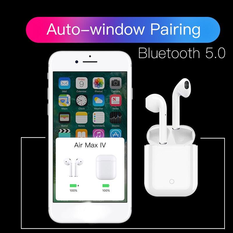 Super basse Air MX nouveau TWS Bluetooth casque écouteurs XY sans fil écouteur PK I7S I9S W1 puce pour iPhone Xiaomi Huawei Samsung