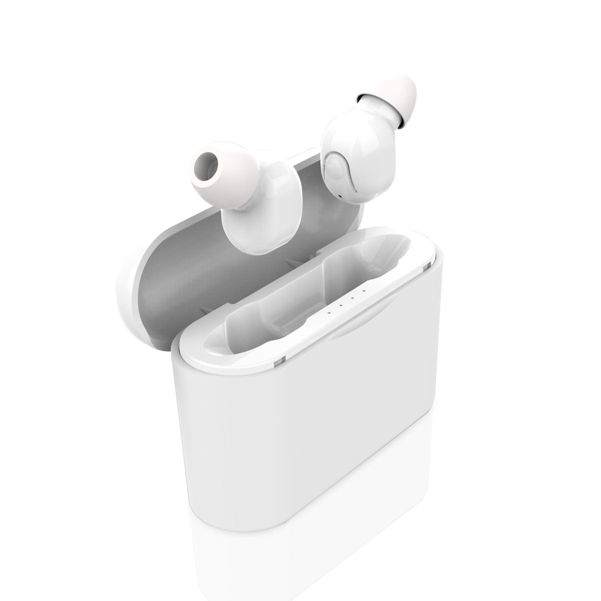 Binaural Bluetooth Headset  Wireless Mini with Charging Double Call tiny bluetooth headsets wireless earbuds
