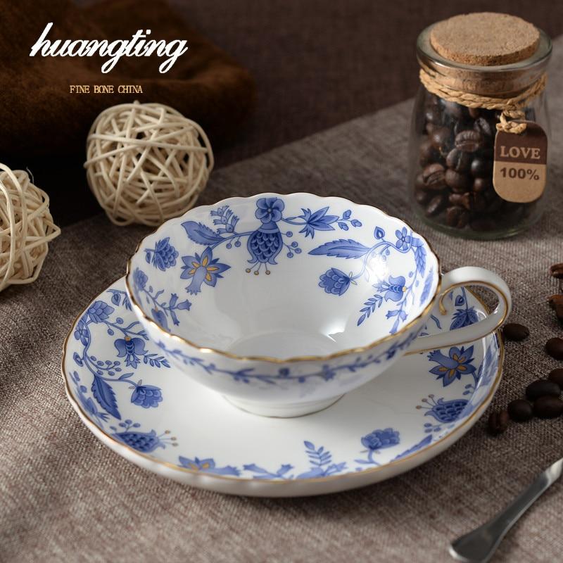 European Style High Bone China Coffee Cup Couple Creative