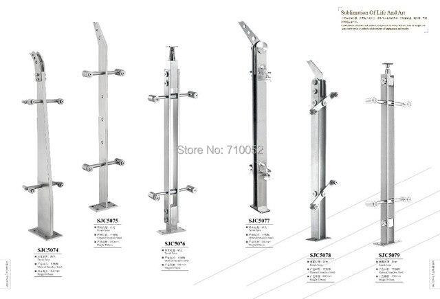 SJC5079 treppen armlehne 304 edelstahl geländer geländer gebürstet ...