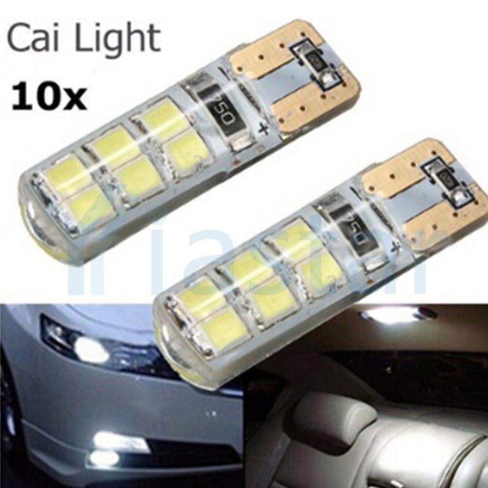 500 шт стайлинга автомобилей авто светодиодный T10 Canbus 194 W5W 2835 SMD 12 Светодиодный лампочки нет ошибок светодиодные фары для парковки T10 светодиодный автомобиля боковой свет