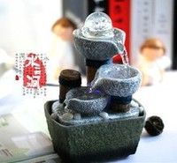 Popular water fountain features feng shui wheel desktop decoration home decoration money drawing house decor