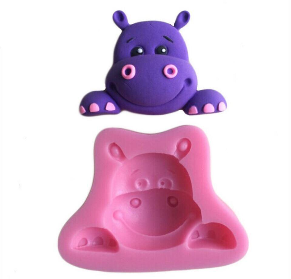 Cake Decorating Animal Figures Aliexpresscom Buy Cute Animal Shaped Cake Decorating Mold Tools