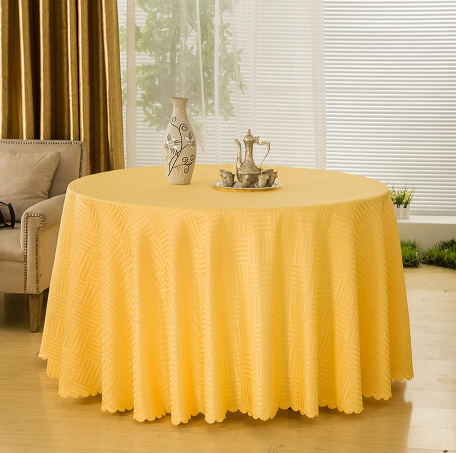 2017 Hotel round table cloth tablecloth restaurant hotel meeting a square table cloth covers household cloth