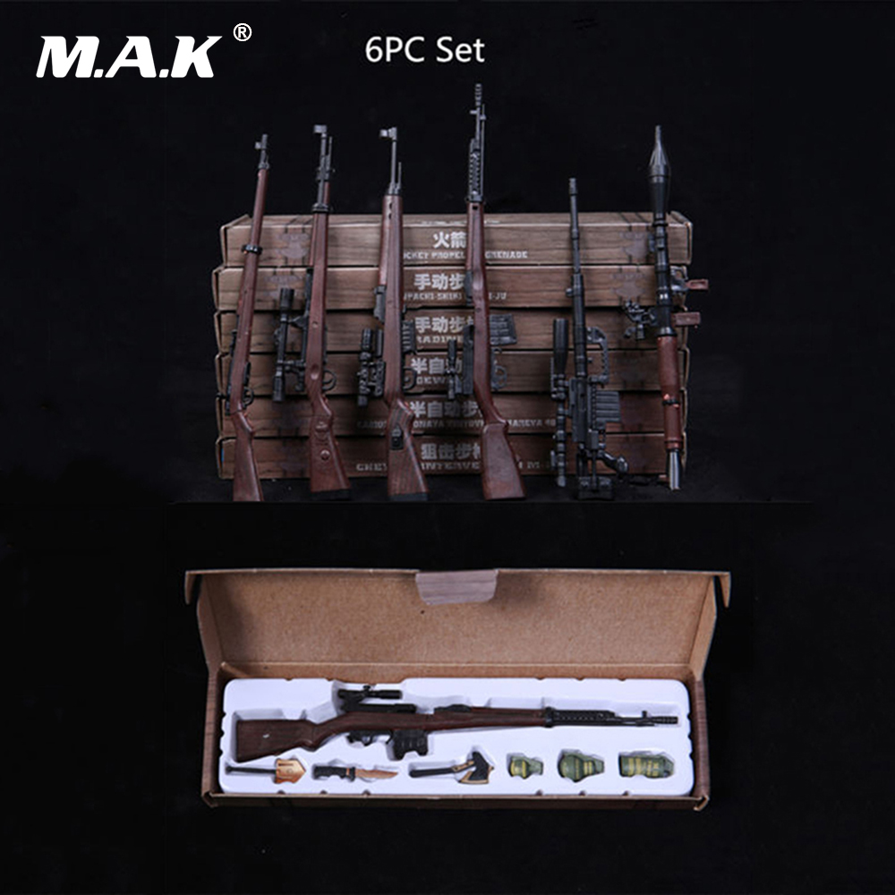 все цены на 1/6 Scale Action Figure Accessories Toy Gun Weapons M14 Automatic Rifle Models Toys for 12 Inches Figure онлайн