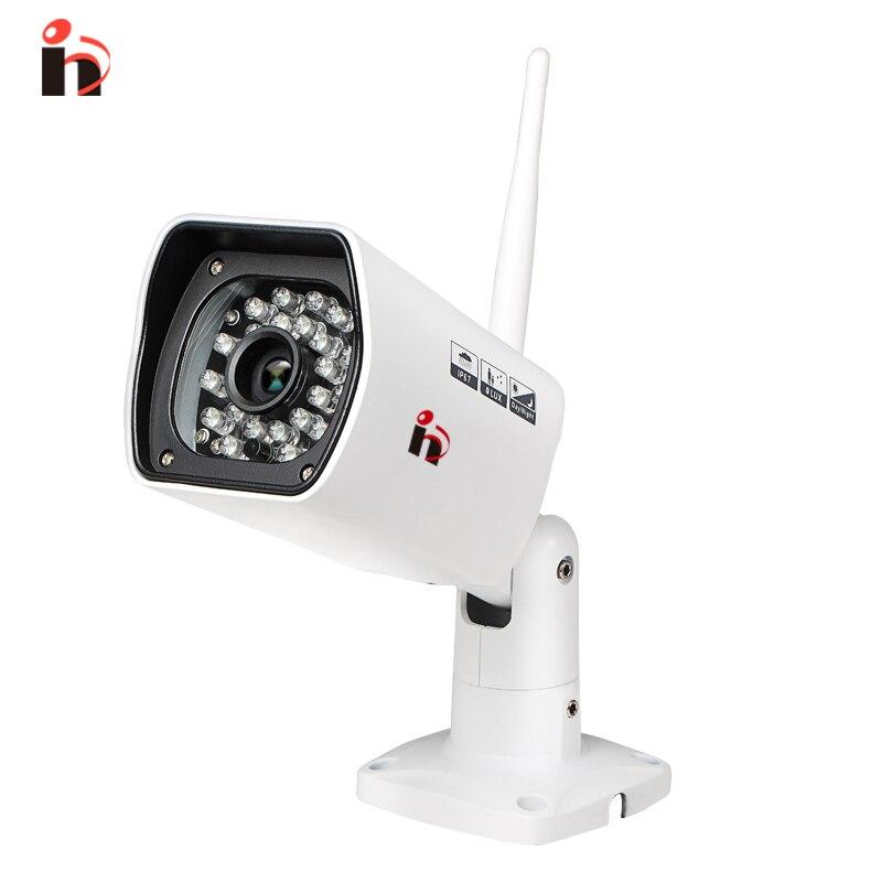 imágenes para H 750 gb 720 p impermeable cámara ip wifi al aire libre cámara de vigilancia onvif ir de la visión nocturna de seguridad incorporado 8g tarjeta sd