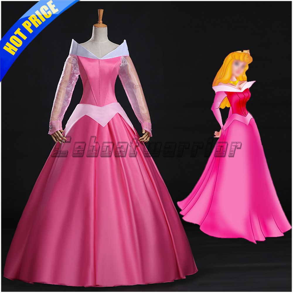 Movie Sleeping cosplay costume Beauty Princess Aurora Aurora fancy dress  custom made