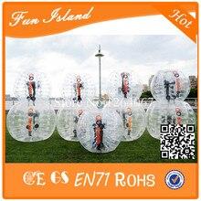 Бесплатная доставка Продвижение ПВХ 1.5 м Зорб бампер, бампер мяч, молоток мяч для продажи