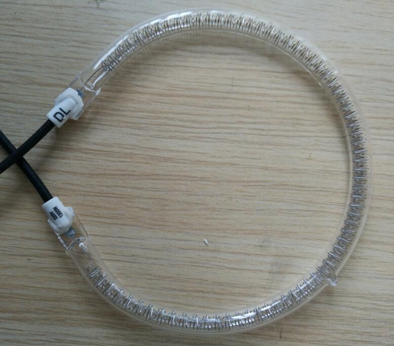 Галогеновая инфракрасная лампа для нагревания, 15 см, 220 В, 1300 Вт