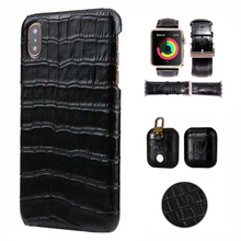 CKHB 8 плюс реального пояса из натуральной кожи чехол для телефона для iPhone 7 8 Plus Xs Max 3D Крокодил узор ретро Жесткий Тонкий
