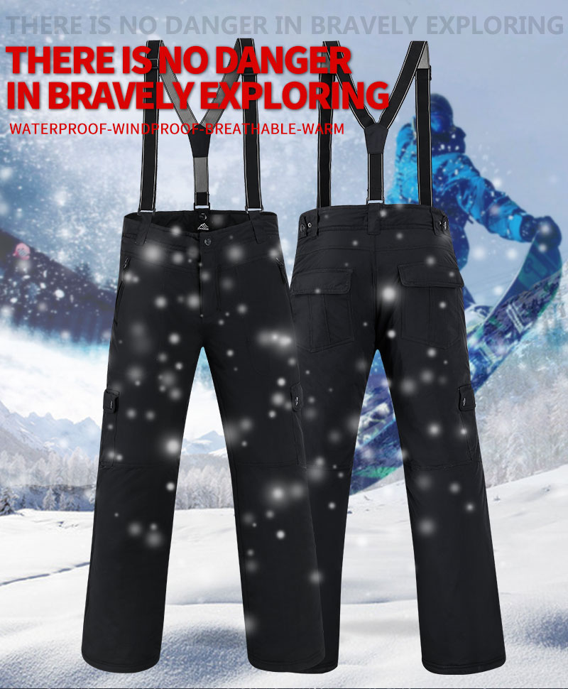 SAENSHING Inverno Calças De Esqui Calças de