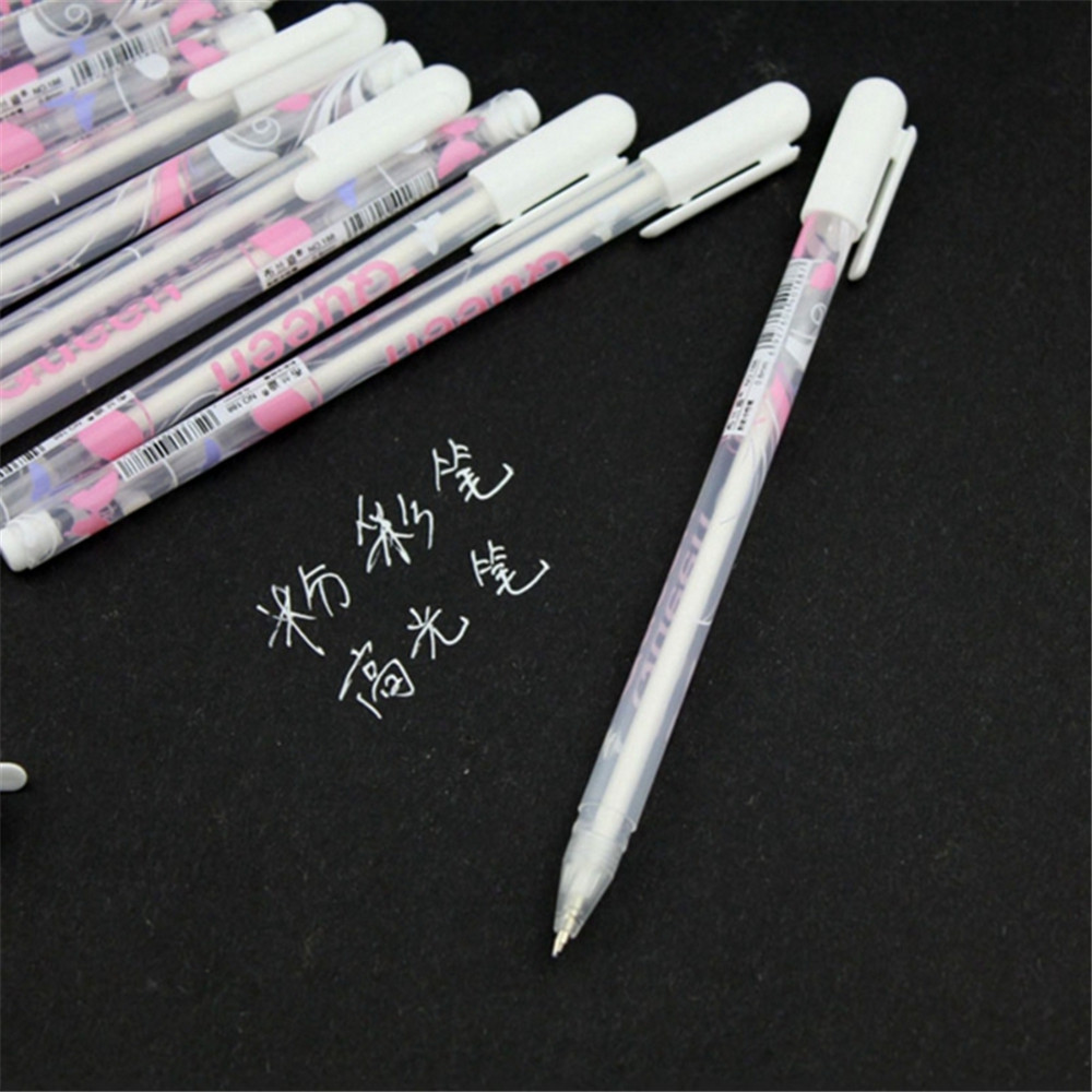 1pc 0.8mm Pastel Gouache Ink Gel Pen Stationery Office School Supply Gift