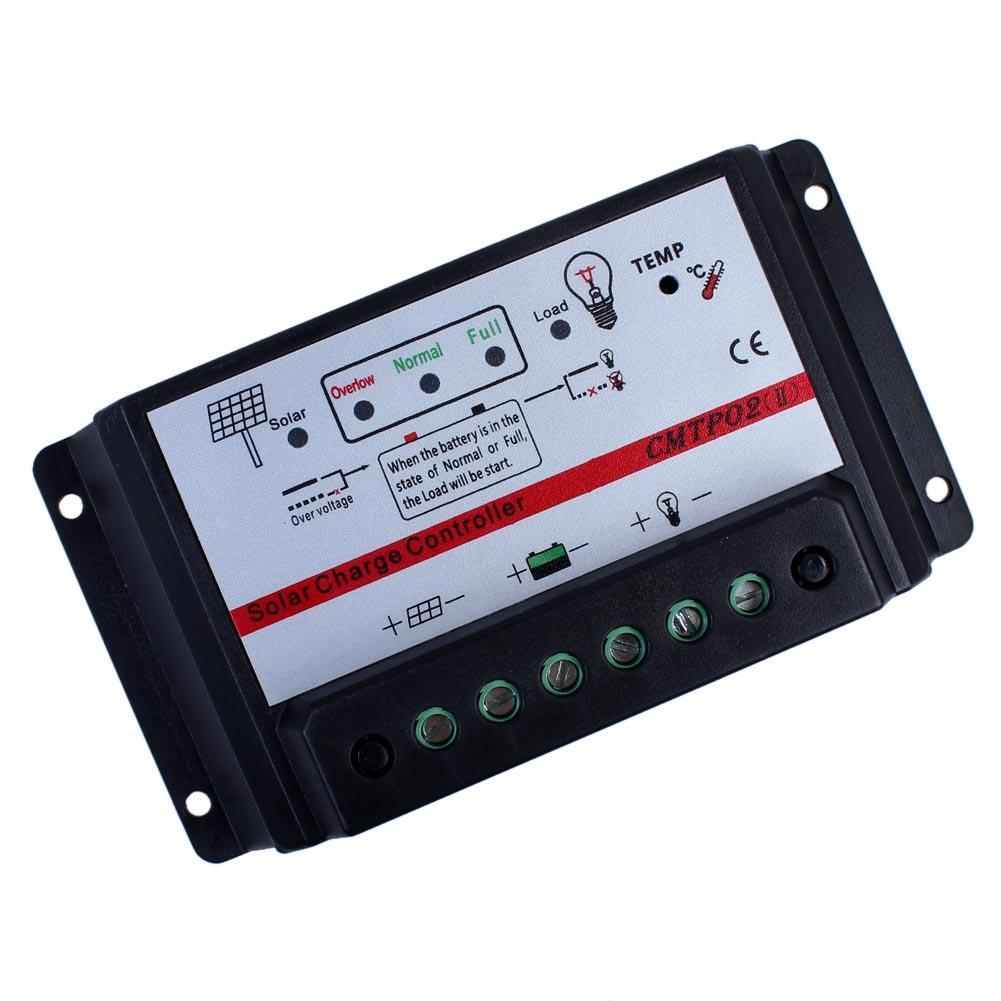 US $8 04 28% OFF|10A 12V/24V Auto Switch MPPT Solar Panel Battery Regulator  Charge Controller A609-in Solar Controllers from Home Improvement on