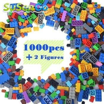 SuSenGo 1000 Pièces BRICOLAGE Classique Creative Building BlocksCreative Livraison Style Brique Modèle Kits Enfants Jouets