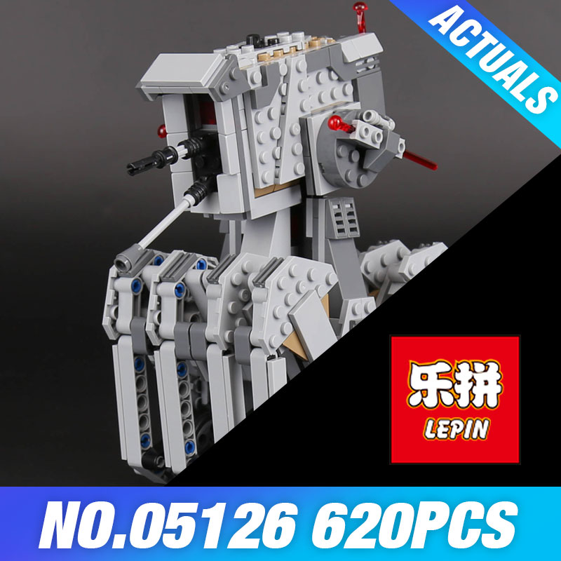 Lepin 05126 The First order scout walker Set Genuine 620Pcs Star Plan Series 75177 war Building Blocks Bricks Children Toys Gift